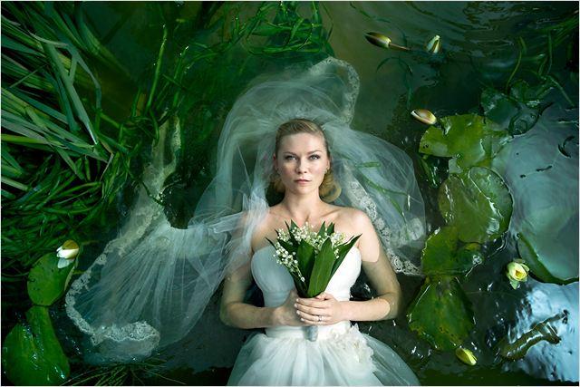 Melancholia : photo Kirsten Dunst, Lars von Trier