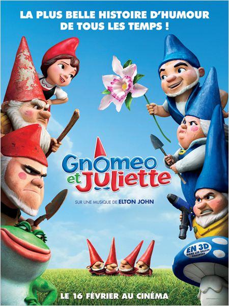 Gnomeo et Juliette : affiche