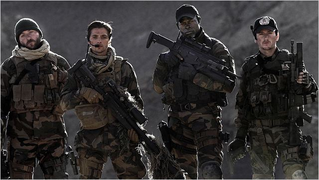Forces spéciales : photo Benoît Magimel, Denis Ménochet, Djimon Hounsou, Raphaël Personnaz, Stephane Rybojad
