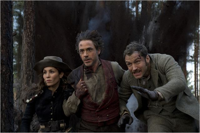 Sherlock Holmes 2 : Jeu d'ombres : photo Guy Ritchie, Jude Law, Noomi Rapace, Robert Downey Jr.