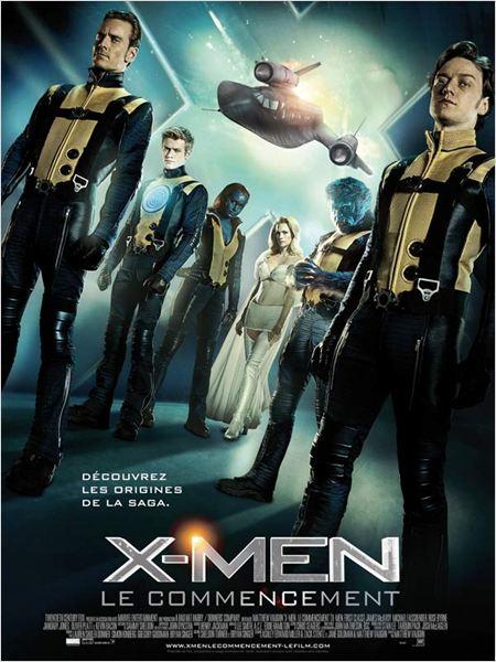 X-Men: Le Commencement : affiche