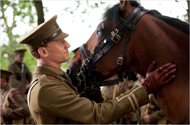 Cheval de guerre : photo Steven Spielberg, Tom Hiddleston