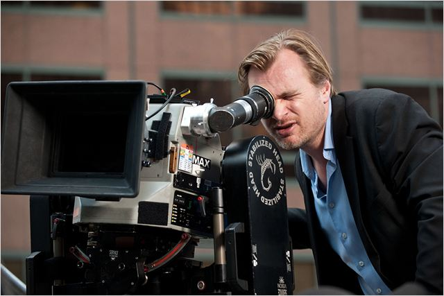 The Dark Knight Rises : photo Christopher Nolan