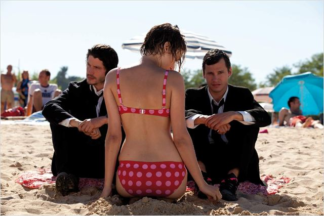 Voir la mer : photo Nicolas Giraud, Patrice Leconte, Pauline Lefevre