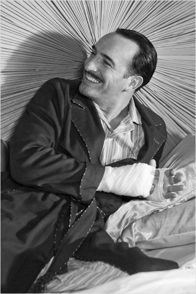 The Artist : photo Jean Dujardin, Michel Hazanavicius