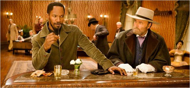 Django Unchained : photo Franco Nero, Jamie Foxx