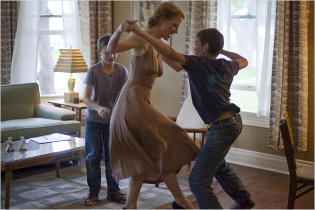 The Tree of Life : photo Jessica Chastain, Terrence Malick