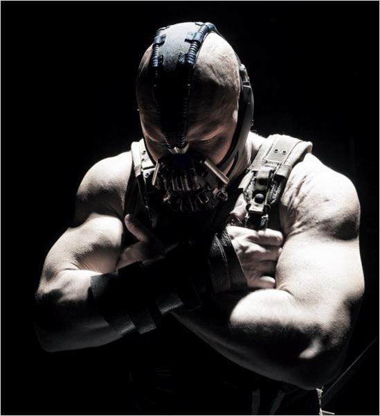 The Dark Knight Rises : photo Christopher Nolan, Tom Hardy