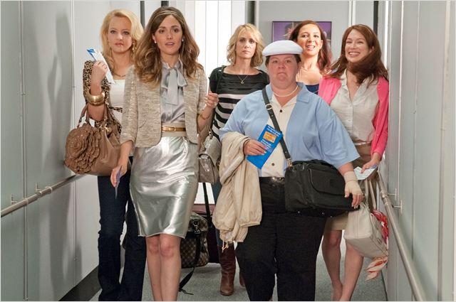Mes meilleures amies : photo Ellie Kemper, Kristen Wiig, Maya Rudolph, Melissa McCarthy, Paul Feig