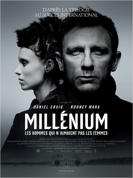 Millenium : Les hommes qui n'aimaient pas les femmes : affiche