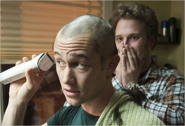50/50 : photo Jonathan Levine, Joseph Gordon-Levitt, Seth Rogen