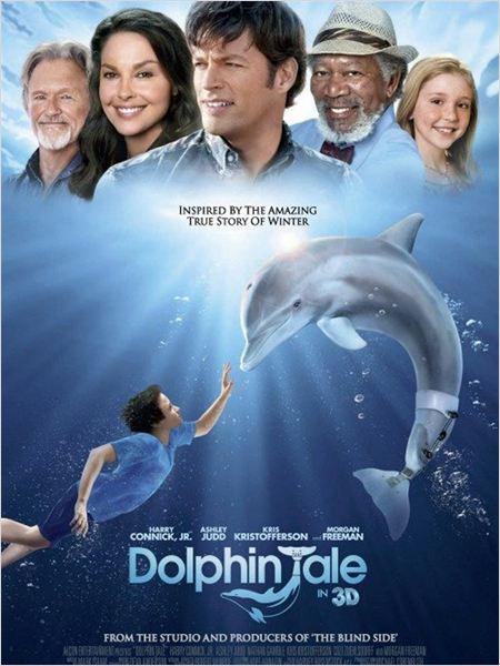 L'Incroyable histoire de Winter le dauphin : affiche
