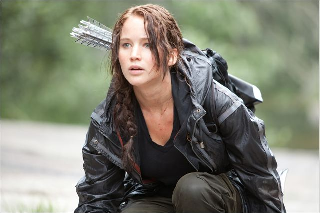Hunger Games : photo Gary Ross, Jennifer Lawrence