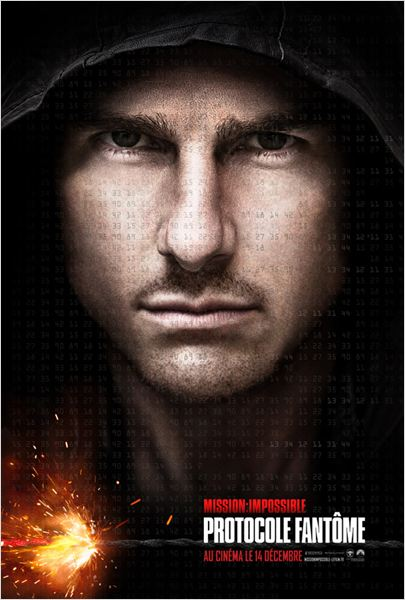 Mission : Impossible - Protocole fantôme : affiche Brad Bird, Tom Cruise