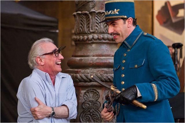Hugo Cabret : photo Martin Scorsese, Sacha Baron Cohen