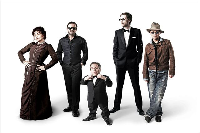 Life's Too Short : photo Helena Bonham Carter, Johnny Depp, Ricky Gervais, Stephen Merchant, Warwick Davis
