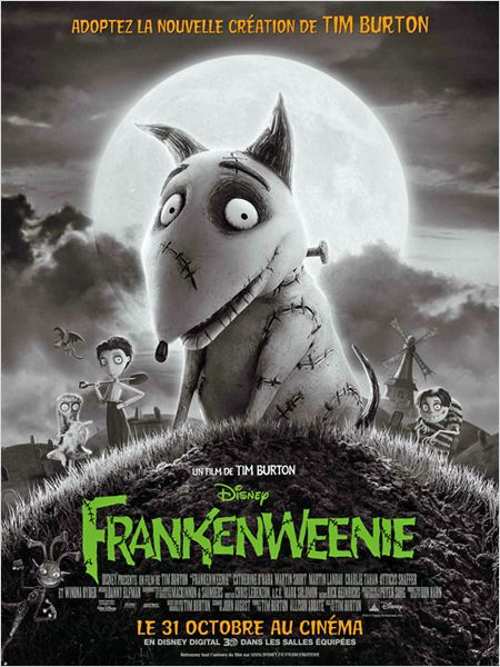 Frankenweenie (2012) [FRENCH / MULTI] [Blu-Ray 720p / 1080p]