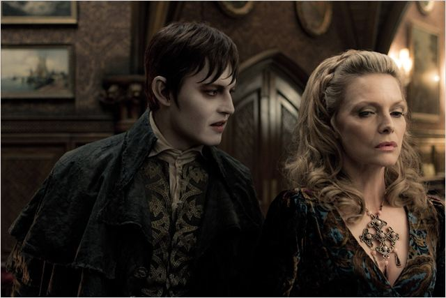 Dark Shadows : photo Johnny Depp, Michelle Pfeiffer, Tim Burton