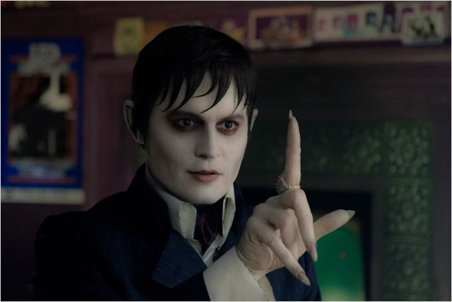 Dark Shadows : photo Johnny Depp, Tim Burton