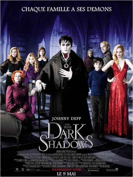 Dark Shadows (2012)  [TRUEFRENCH] [CAM MD] (1CD)