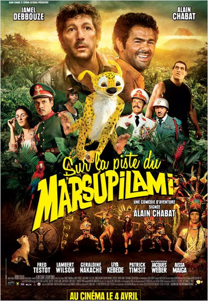 Sur La Piste Du Marsupilami streaming Torrent