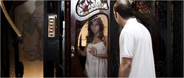 Malveillance : photo Jaume Balagueró, Luis Tosar, Marta Etura
