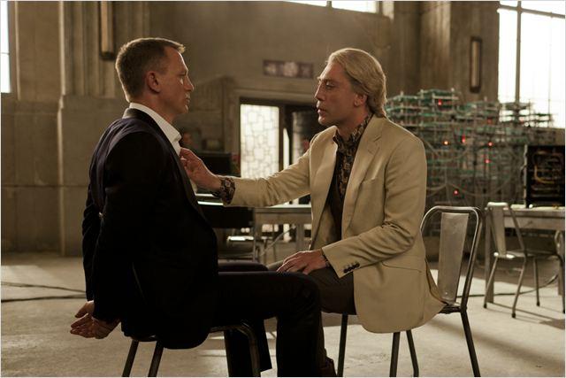 Skyfall : photo Daniel Craig, Javier Bardem