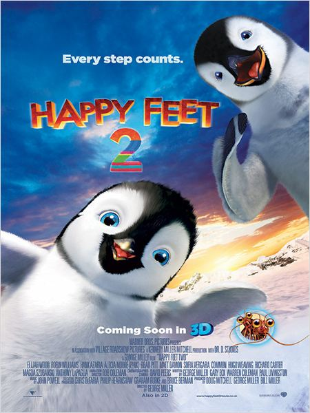 Regarde Happy Feet 2