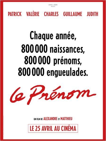 Le Prénom : affiche