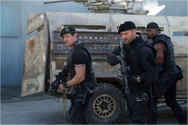 Expendables 2: unité spéciale : photo Jason Statham, Sylvester Stallone, Terry Crews