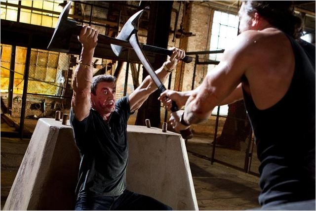 Du Plomb dans la tête : photo Jason Momoa, Sylvester Stallone, Walter Hill