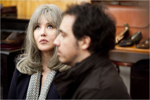 David et Madame Hansen : photo Alexandre Astier, Isabelle Adjani