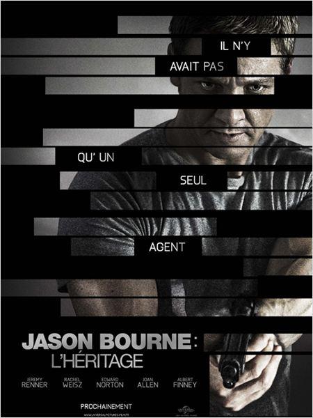 Jason Bourne : l'héritage : affiche
