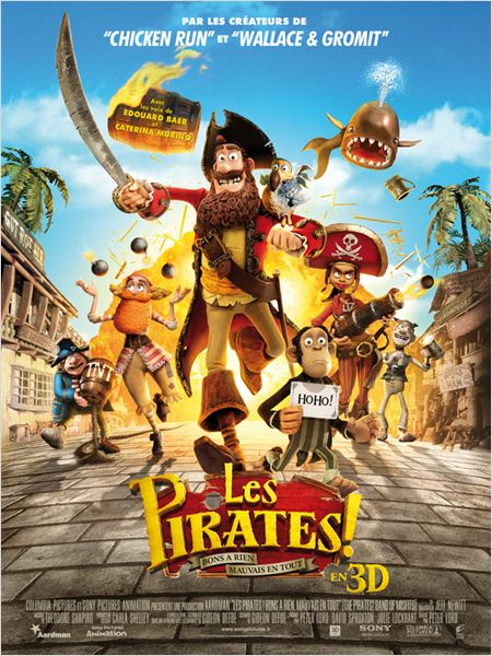 Les Pirates ! Bons à rien, Mauvais en tout (The Pirates! Band of Misfits) [R5.MD] film dvdrip gratuit