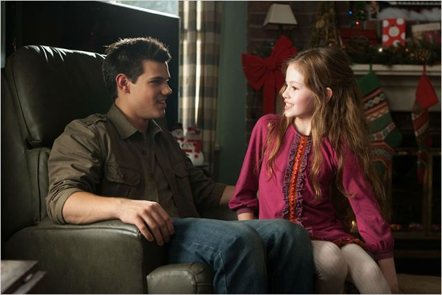 Twilight - Chapitre 5 : Révélation 2e partie : photo Bill Condon, Mackenzie Foy, Stephenie Meyer, Taylor Lautner
