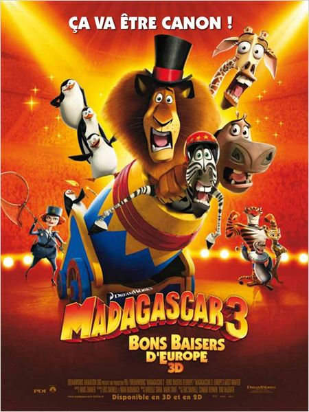 Madagascar 3, Bons Baisers D'Europe Streaming Film