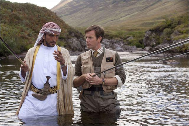 Des saumons dans le désert : photo