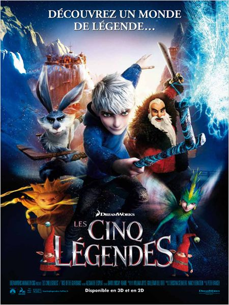 Les Cinq l�gendes |FRENCH| [DVDSCR.MD]