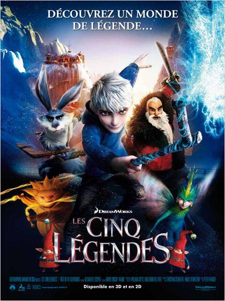 Les Cinq légendes (2012) [FRENCH] [BRRiP AC3] (3D)