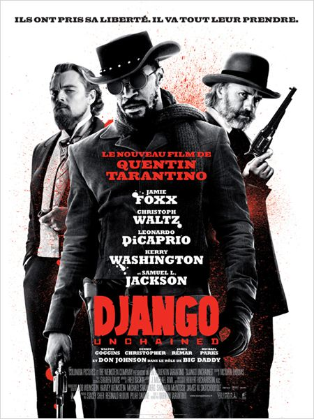 Django Unchained : affiche