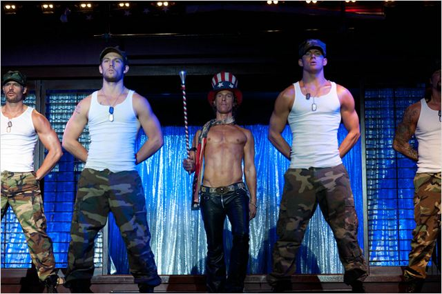 Magic Mike : photo Alex Pettyfer, Channing Tatum, Joe Manganiello, Matthew McConaughey