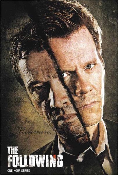 The Following : affiche James Purefoy, Kevin Bacon