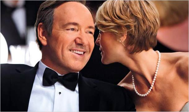 House of Cards (US) : photo Kevin Spacey, Robin Wright