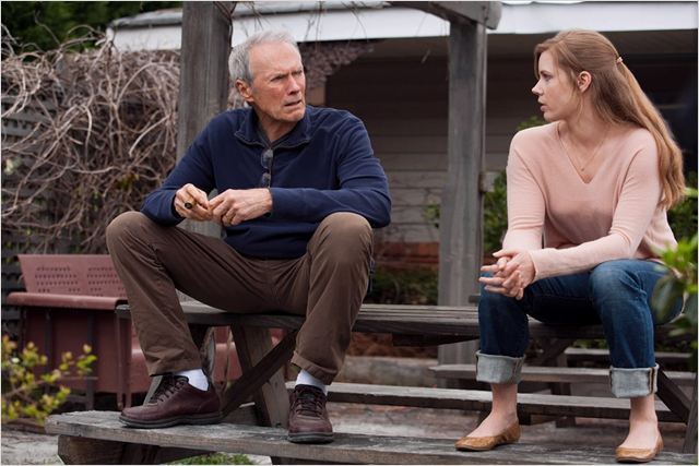 Une nouvelle chance : photo Amy Adams, Clint Eastwood