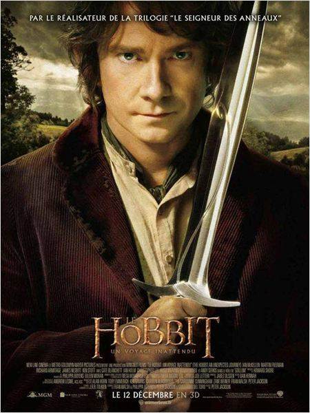 Le Hobbit : un voyage inattendu (2012) [FRENCH] [DVDRiP 2CD / BDRiP 2CD & 3CD]