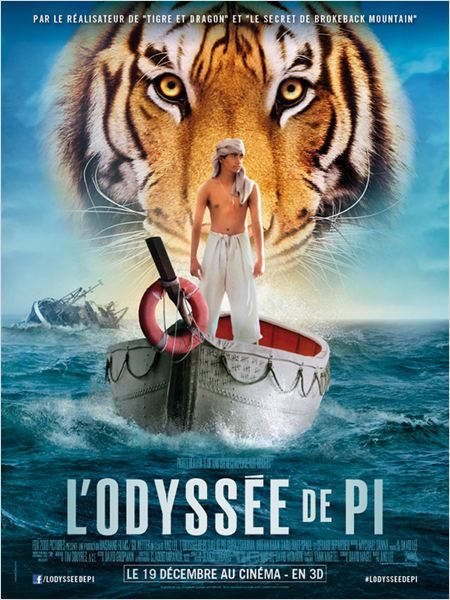 L'Odysse de Pi : affiche