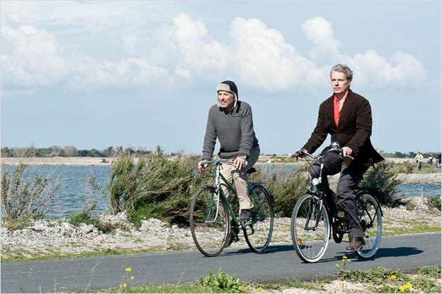 Alceste à bicyclette : photo Fabrice Luchini, Lambert Wilson