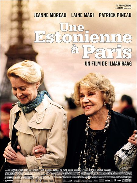 Une Estonienne à Paris : affiche