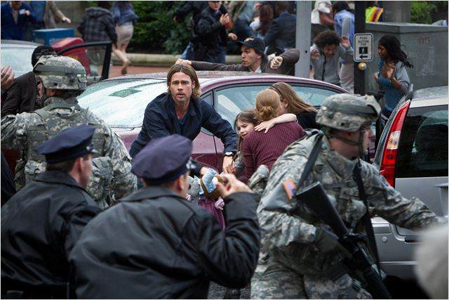 World War Z : Photo Brad Pitt