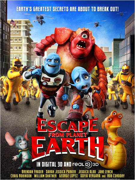 Regarder film Escape from Planet Earth